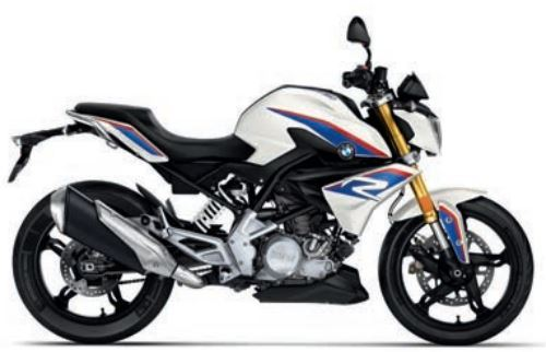 motorcycle photo BMW - G 310 R(2020) STREET