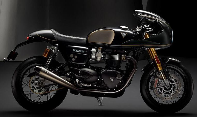motorcycle photo TRIUMPH - THRUXTON TFC(2020) CUSTOM