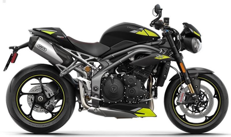 motorcycle photo TRIUMPH - SPEED TRIPLE RS(2020) STREET