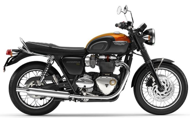 motorcycle photo TRIUMPH - BONNEVILLE  T120(2020) CUSTOM
