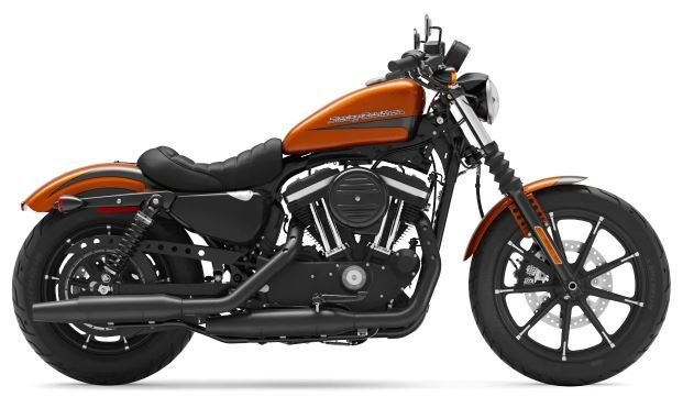 motorcycle photo HARLEY DAVIDSON - IRON 883(2020) CUSTOM