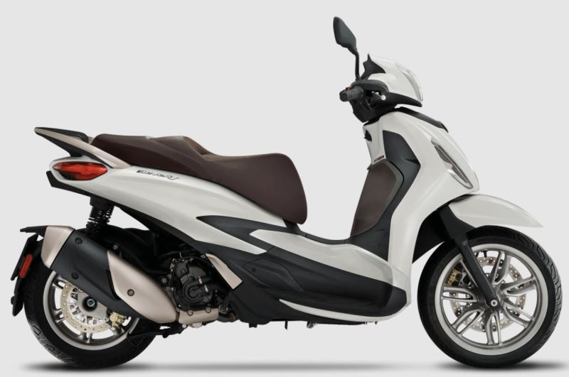 motorcycle photo PIAGGIO - BEVERLY 300(2021) SCOOTER