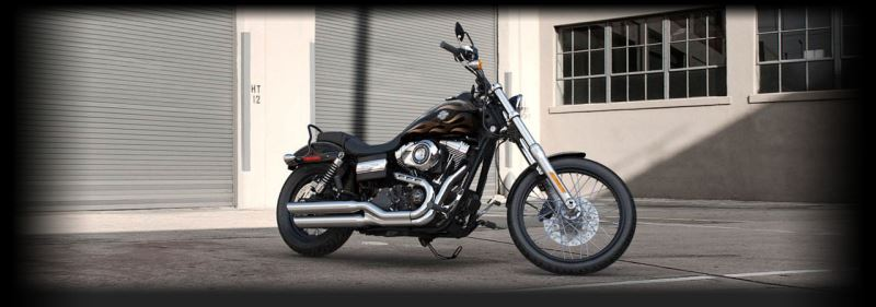 motorcycle photo HARLEY DAVIDSON - Dyna Wide Glide(2015) CUSTOM