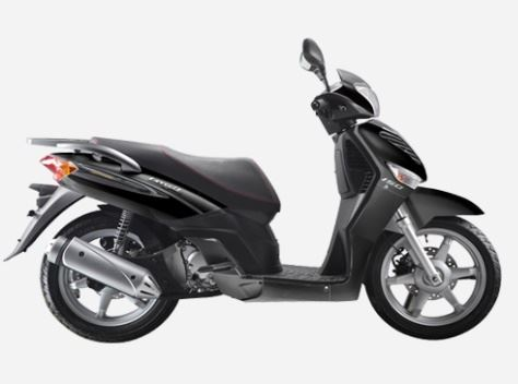 motorcycle photo KEEWAY - LOGIK 150 4T(2014) SCOOTER