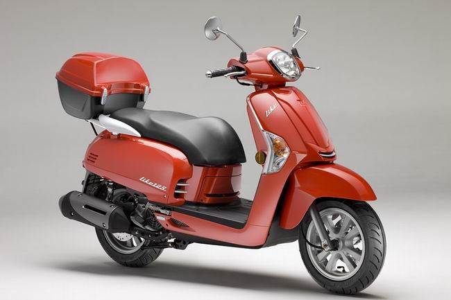 motorcycle photo KYMCO - LIKE 125(2014) SCOOTER