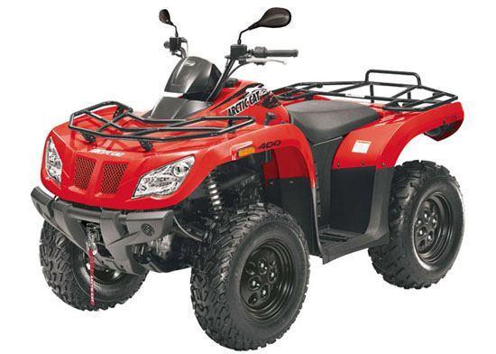 motorcycle photo ARCTIC CAT - 400 4x4(2014) ATV