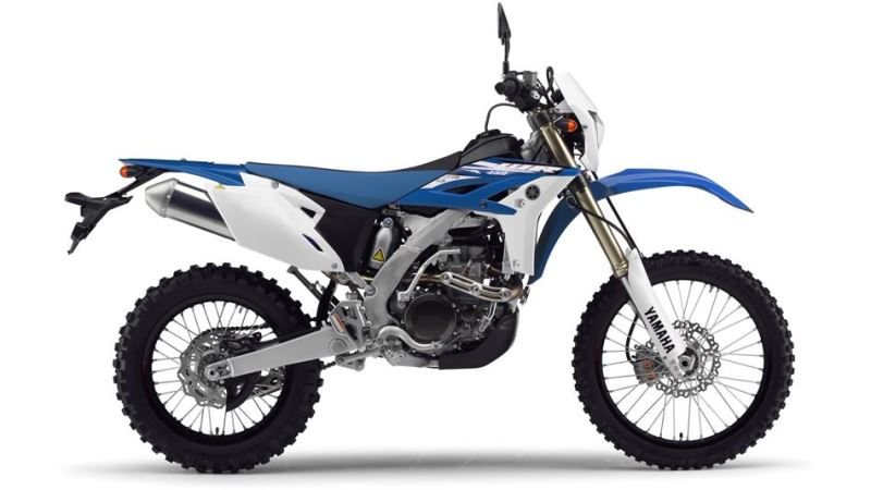 Review of Yamaha WR450F 2018: pictures, live photos