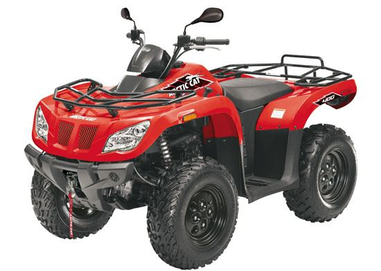 motorcycle photo ARCTIC CAT - 400 4x4(2015) ATV