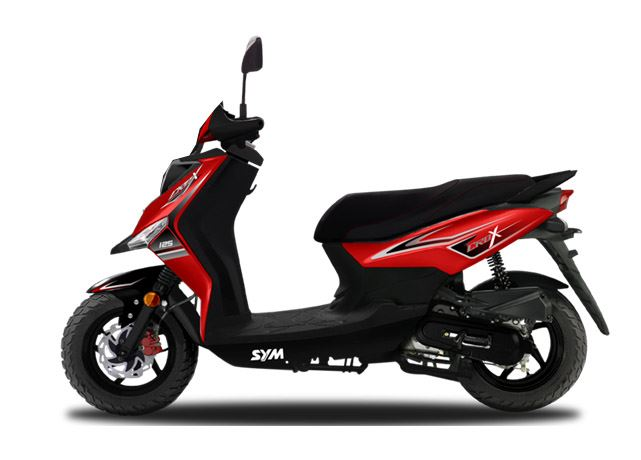 motorcycle photo SYM - CROX 50(2015) SCOOTER