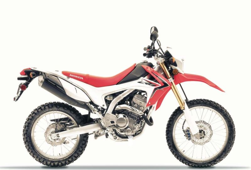 motorcycle photo HONDA - CRF 250 L(2015) ENDURO