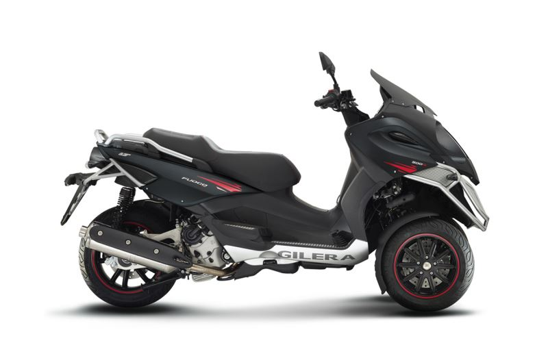 motorcycle photo GILERA - FUOCO 500 LT(2014) SCOOTER
