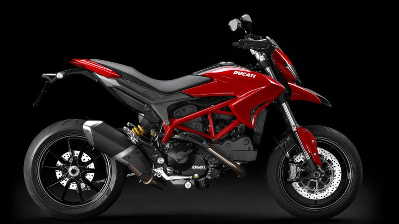 motorcycle photo DUCATI - HYPERMOTARD Red(2015) SUPERMOTO
