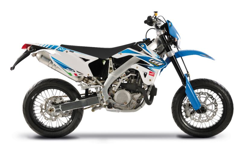 motorcycle photo TM - 450F SMR (2015) SUPERMOTO