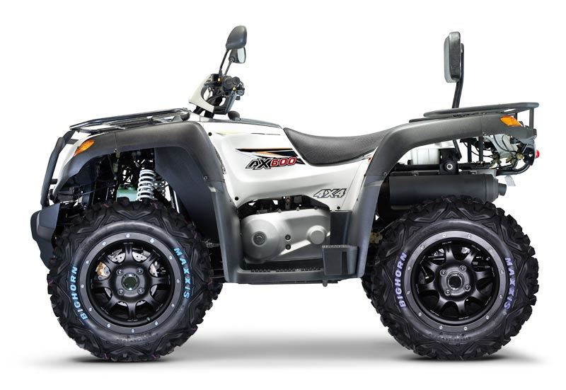 motorcycle photo GAMAX - AX600 LX 4x4 BW(2015) ATV